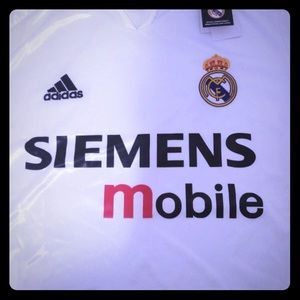Real Madrid vintage jersey 2005